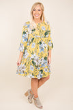 Stealing Sunshine Dress, Dandelion