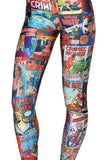 Leggings - In Spring Of Sky And Digital Box Cartoon Sexy Leggings - Epic Leggings