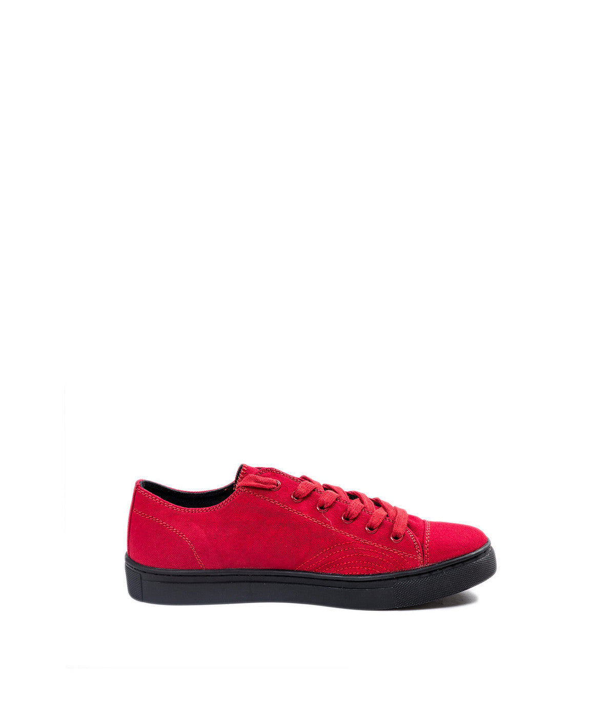 Cotton & Natural Rubber Low Top Sneakers