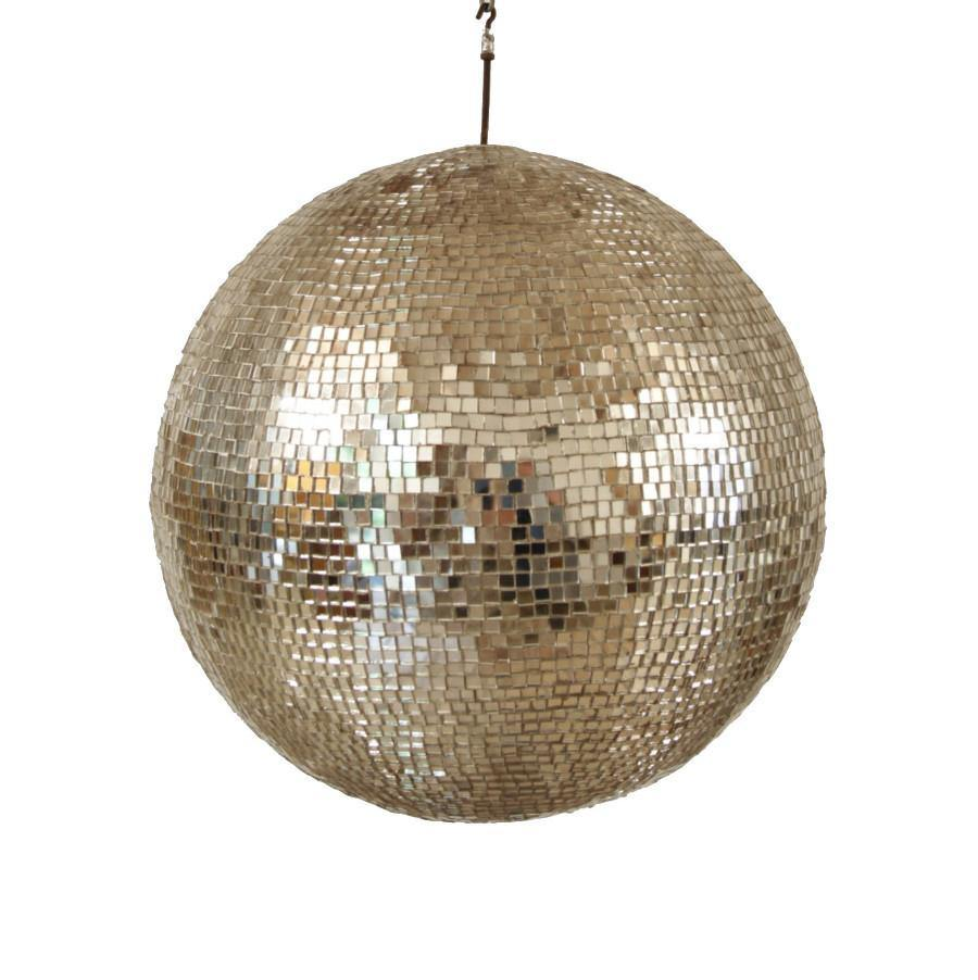 1940s, German, Disco Ball. Vintage, gold, silver, La Maison Rebelle, gift shop, Los Angeles, vintage, home decor, interior design