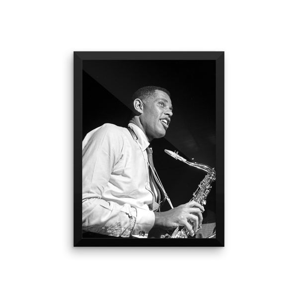 "Dexter Gordon High Resolution Framed Blue Note Session Photo (""Doin' Alright"" 1961) (B)"