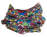 Trippy Mushroom Rave Bandana Multifunctional Seamless Mask