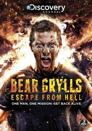 Bear Grylls Escape From Hell [DVD]