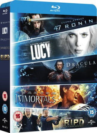 Blu ray 5-Movie Starter Pack [Blu-ray]