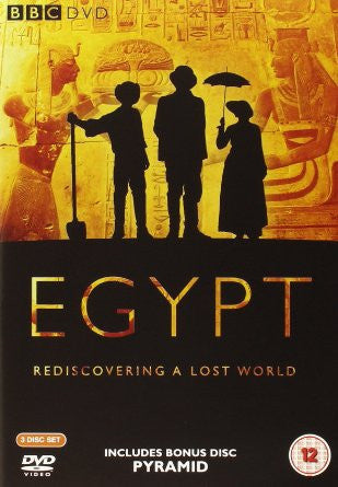 Egypt : Rediscovering A Lost World (3 Disc Box Set) [DVD]