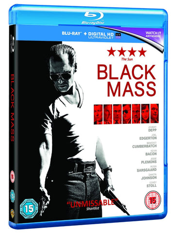 Black Mass [Blu-ray] [2016] [Region Free]