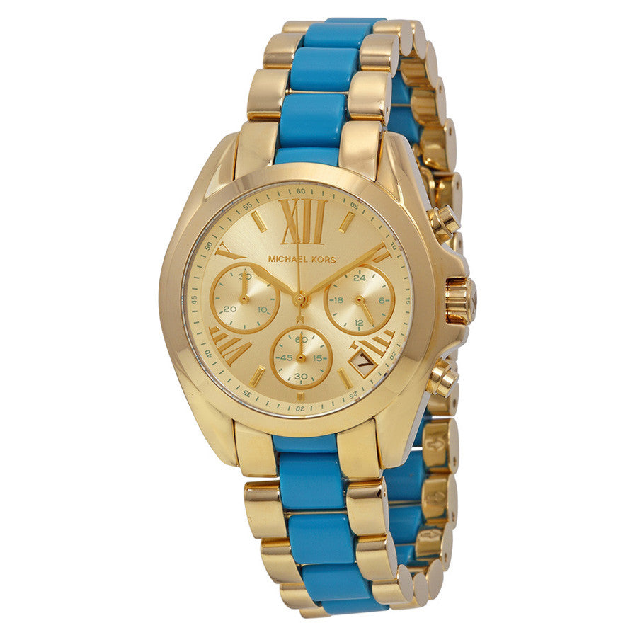 Bradshaw Chronograph Light Gold Dial Two-tone Ladies Watch