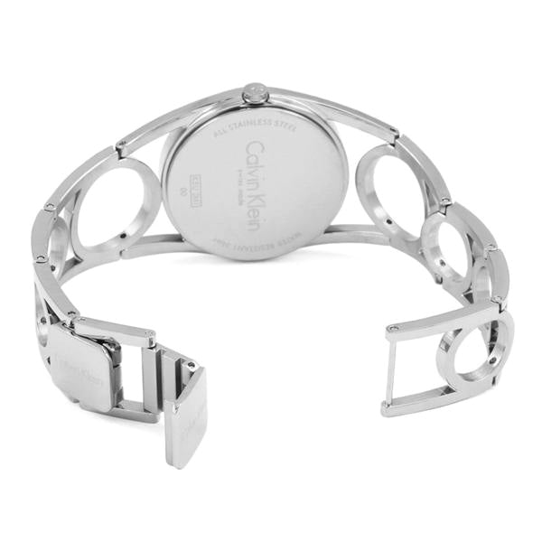 Round Stainless Steel Ladies' Watch