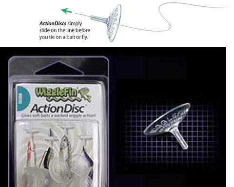 ActionDisc Clear - 3 pack