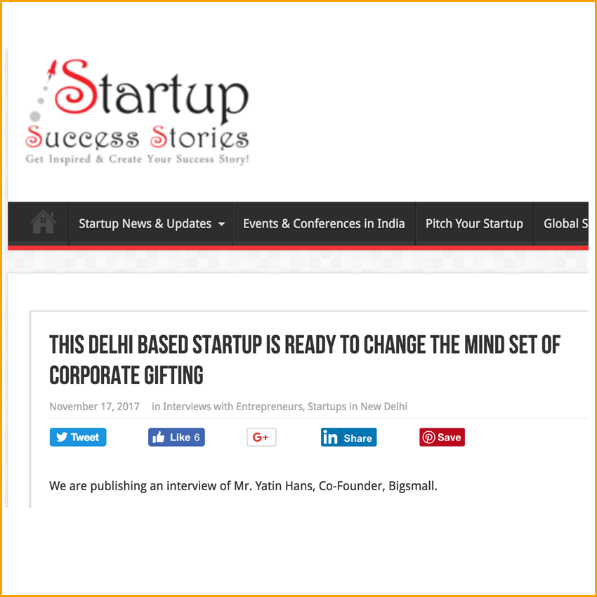 Startup Success Stories | This Delhi Based Startup is Ready to Change the Mind Set of Corporate Gifting