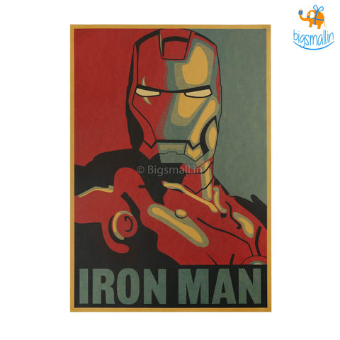 Official Iron Man Poster