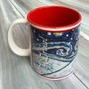 Japanese Chin Holiday Starry Night Mug