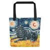 Schipperke (no tail) STARRY NIGHT Tote