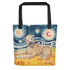 Wheaten Terrier STARRY NIGHT Tote