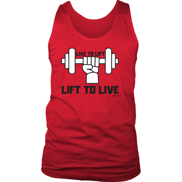 Lift To Live Tank Top