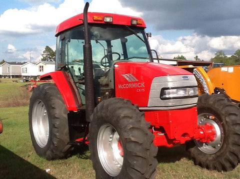 Case IH McCormick CX Tractors CX75 CX85 CX95 CX105 Official Service Repair Manual