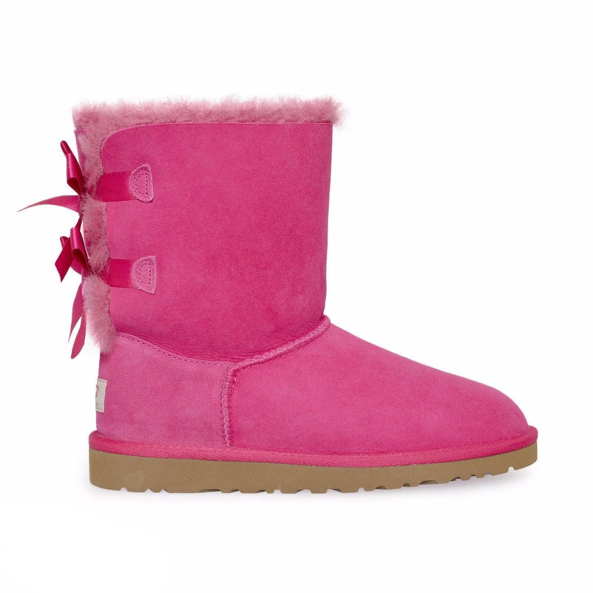 UGG Bailey Bow Cerise Pink Boots