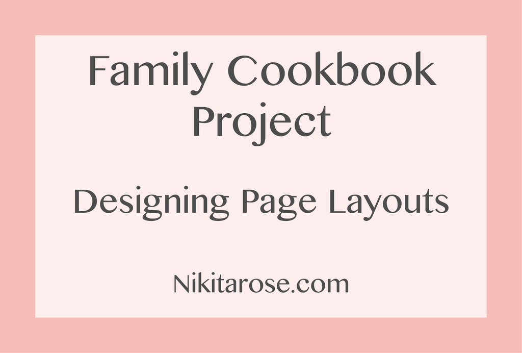 The Family Cookbook Project - Part Two