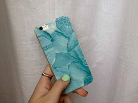 Blue All Over iPhone Case - Rachel Michelle USA