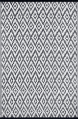 Espero Charcoal Grey and White Rug - greendecore.co.uk - 1