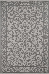 Gala Taupe Grey and Cream Rug - greendecore.co.uk - 1