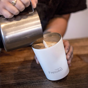Fressko Camino Stainless Steel Coffee Cup – Snow - 340ml