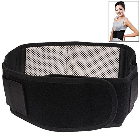 Lower Back Lumber and sides Support - Magnetic - fits around waist for pain relief and to relieve soreness and stiffness - magnet therapy