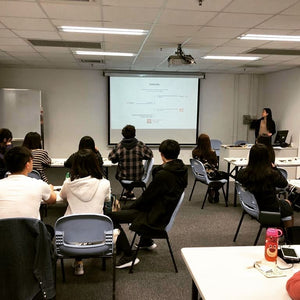 Sharing brand story and vegan workshop at Hong Kong Design Institute