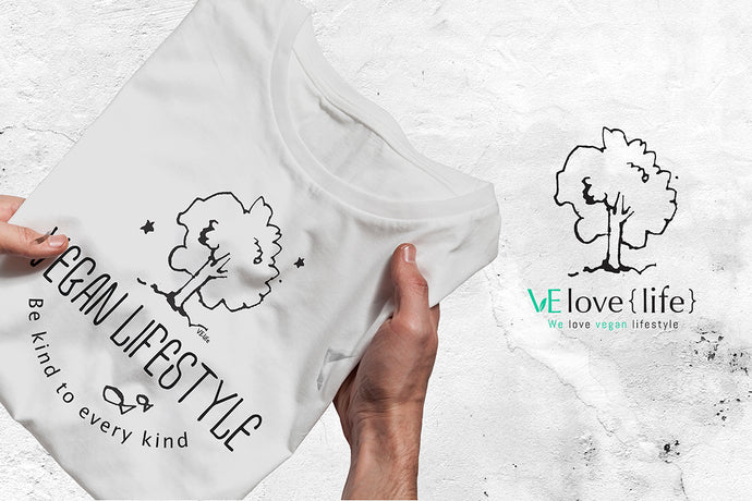 Be kind to every kind - Fair trade certified organic men tee - VElove