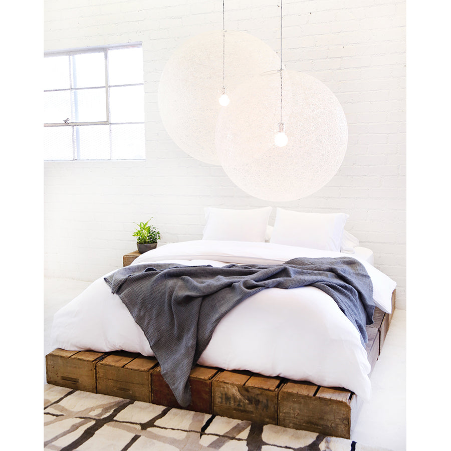 Bamboo duvet cover and shams