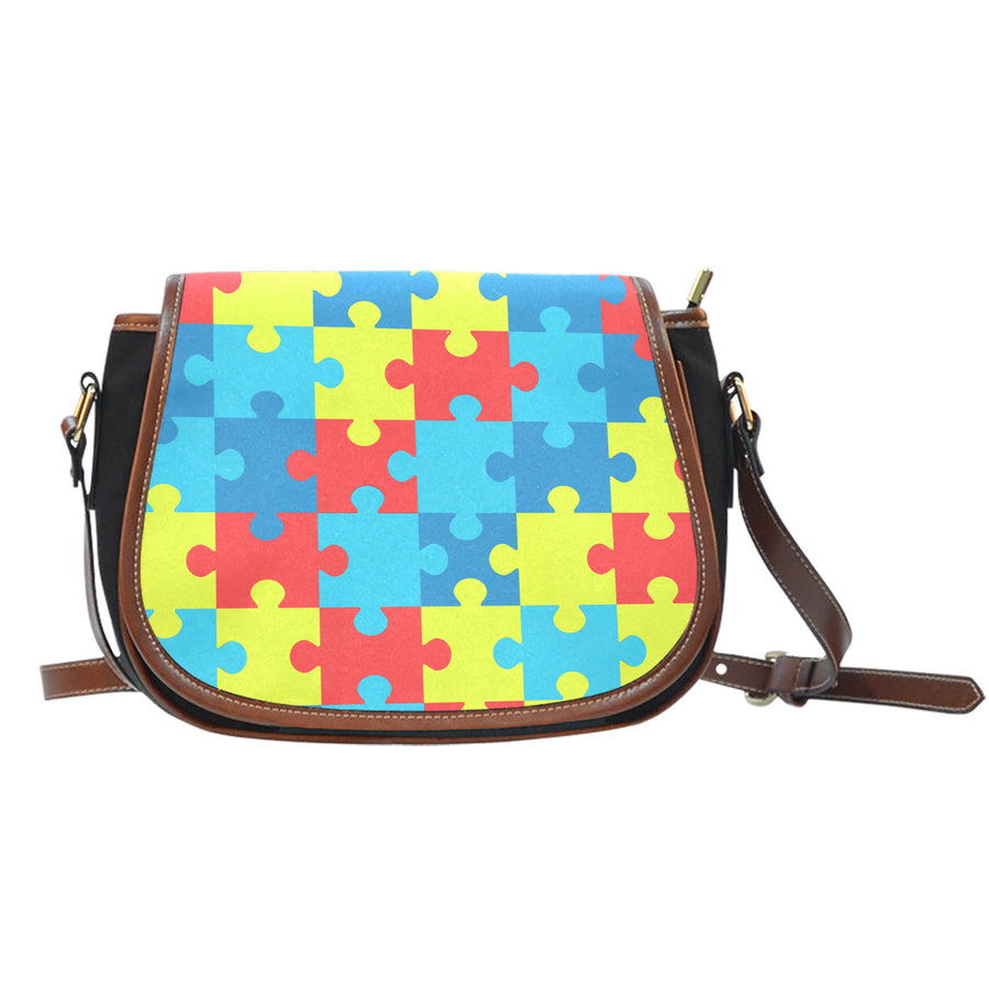 Autism Awareness V2 - Saddlebag