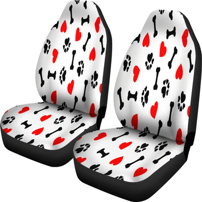 DOG LOVE CAR SEAT COVERS (Set of 2)