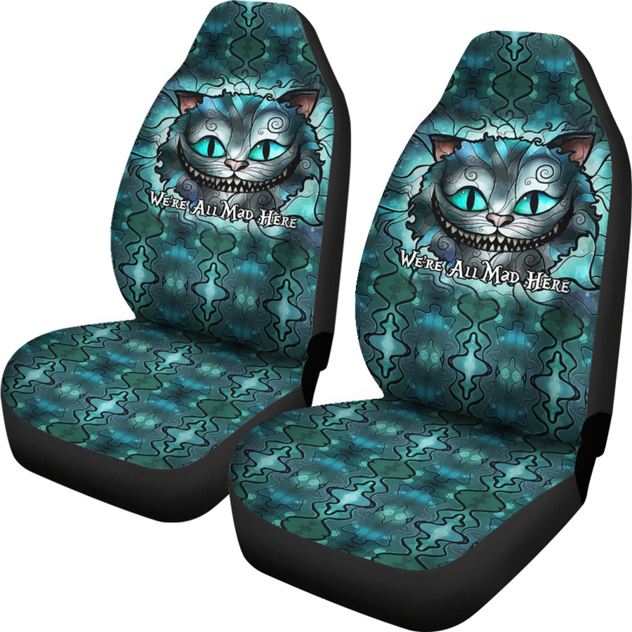 We're All Mad Here - Car Seat Covers - (Set of 2)