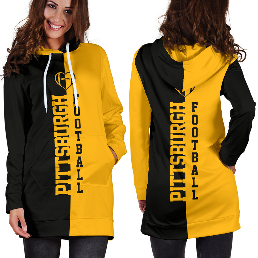 Pittsburgh Football - Hoodie Dress