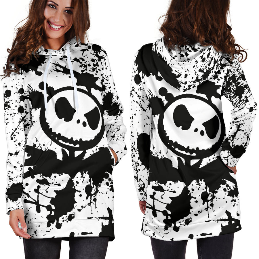 Jack Skellington - Hoodie Dress