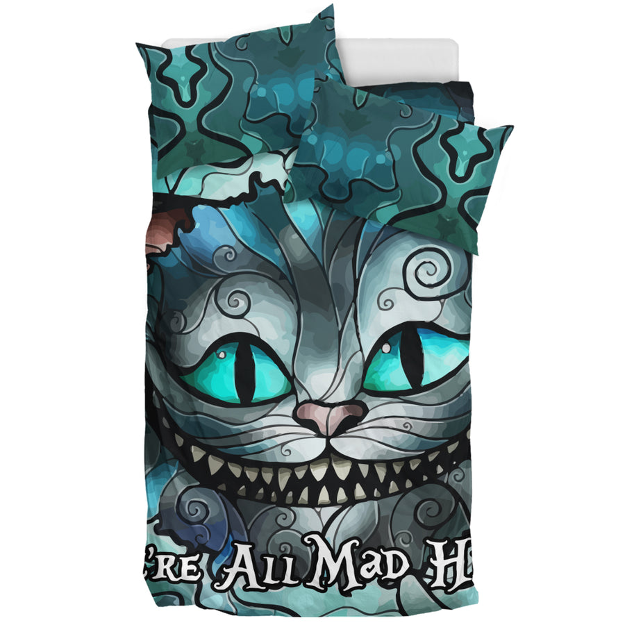 We're All Mad Here V2 - Bedding Set