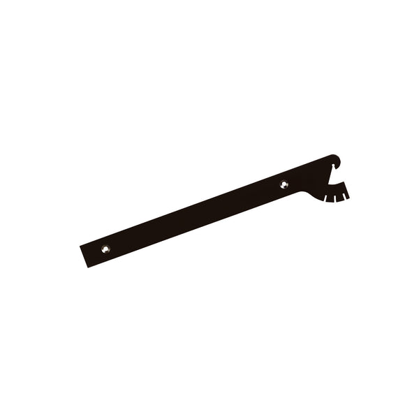 Maxe 300Mm Shelf Bracket Multi Angle Set With Screws & Tool 300 L X 2.5Mm Thick