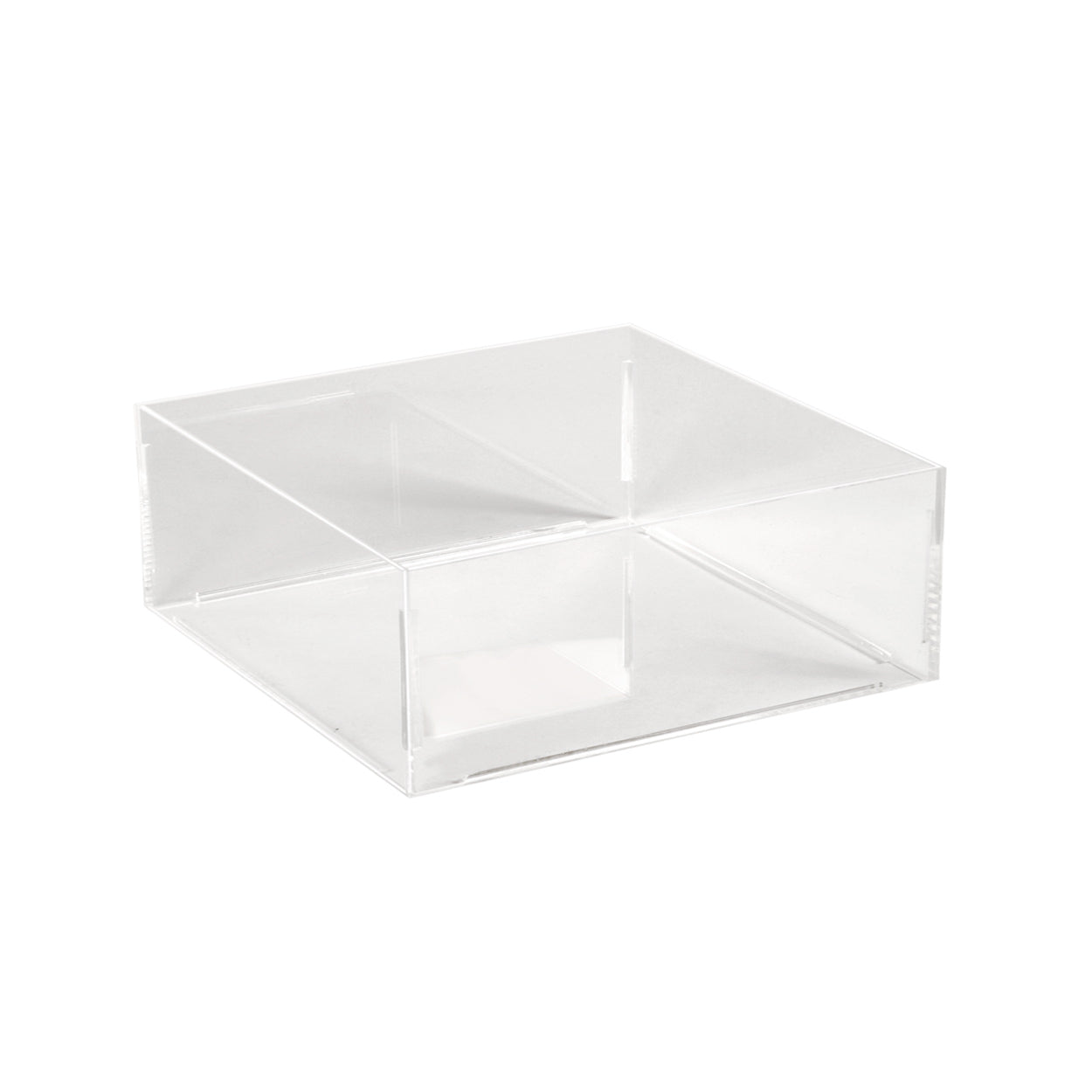Acrylic Container Square 200 X 200 X 100Mm H