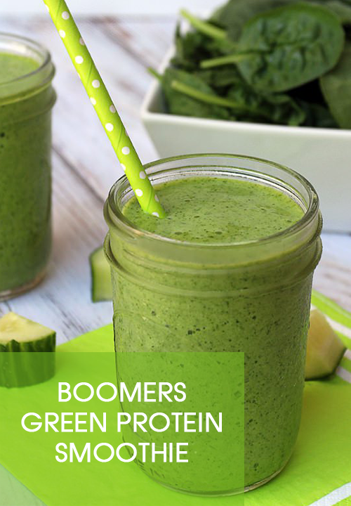 Boomers Green Protein Smoothie