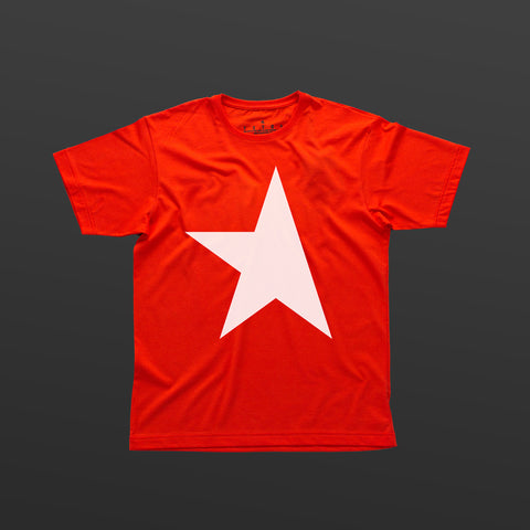 First T-shirt red/white TITOS star logo