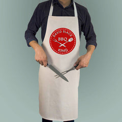 Men's BBQ King Personalised Apron -  - 1