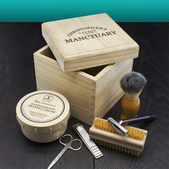 Men's Personalised Manctuary Cube Box -