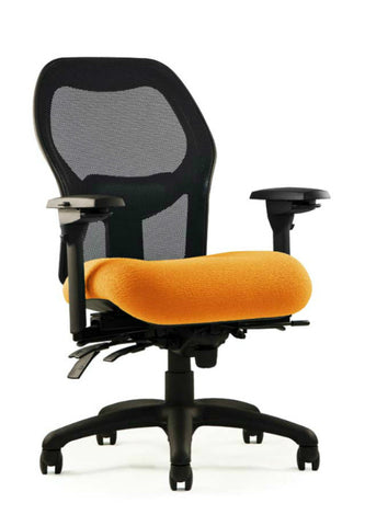 Neutral Posture NPS1500 Chair, Mesh Back, Med. Seat, Min. Contour