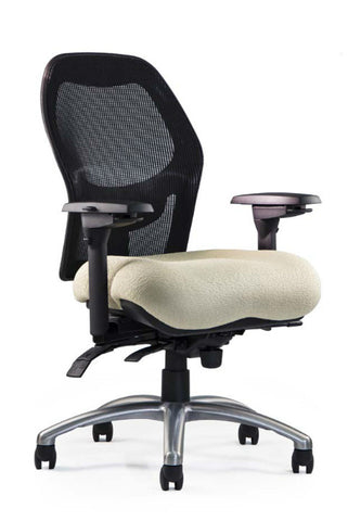 Neutral Posture NPS1600 Chair, Mesh Back, Med. Seat, Mod. Contour