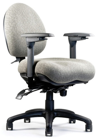 Neutral Posture NPS5600 Chair, Mid-Size Back, Med. Seat, Mod. Contour