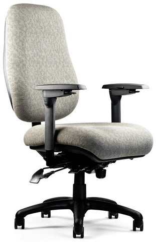 Neutral Posture NPS6800 Chair, High/Wide Back, Lrg. Seat, Min. Contour