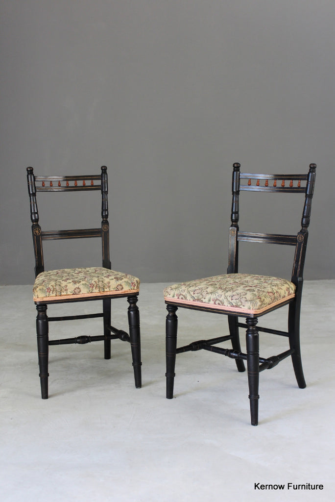 Pair Aesthetic Occasional Chairs