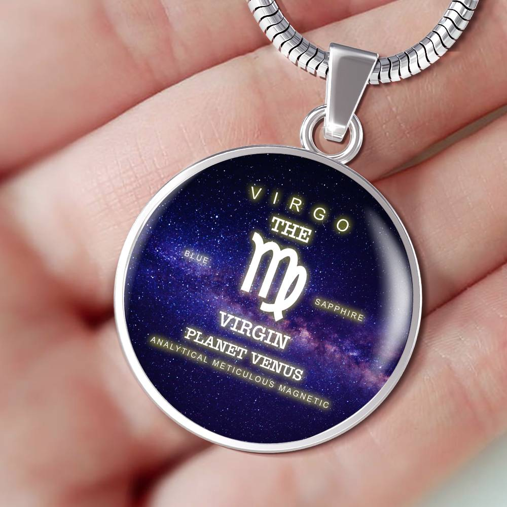 Virgo Luxuary Silver Necklace