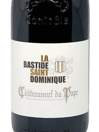 La Bastide Saint Dominique Chateauneuf du Pape 2015
