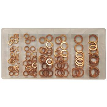 JBM-53353 Copper Washer Assortment 110pc